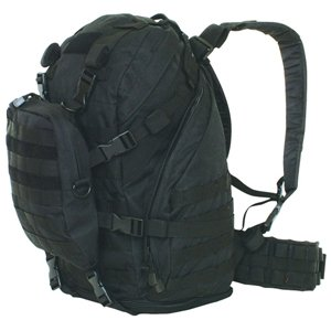 Black Advanced Expeditionary Pack – 20 x 12 x 9 Inches, MOLLE Compatible Backpack Bag, Outdoor Stuffs