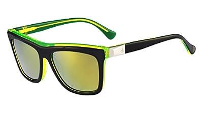 Calvin Klein CK Sunglasses CK4252S 089 Black Yellow Fluo 54 16 135