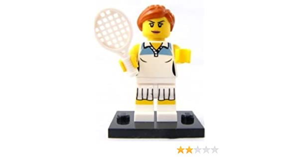 LEGO 8803 Minifigures Serie 3 - Minifigura de tenista: Amazon.es ...