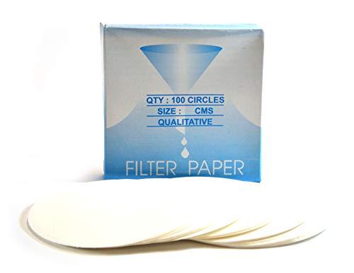 EISCO – Premium Filter Paper, Qualitative Filter Paper, Dia. – 12.5 cm, Pack of 100 Price & Reviews