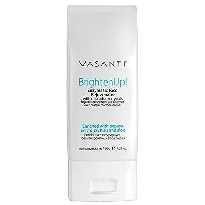 VASANTI Enzymatic Face Rejuvenator Exfoliating Face Wash by VASANTI - Enriched with Papaya, Microcrystals, Aloe Vera - Get Healthy Glowing Skin - Original Size (120g) from Vasanti Cosmetics