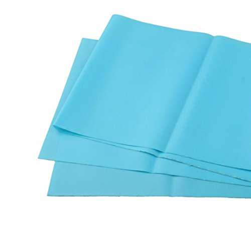 Bessky Pilates Yoga Workout Aerobics Stretch Tensile Elastic Band Straps (Blue)