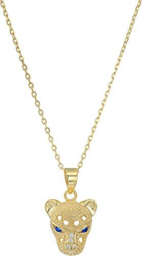 Shashi Women's Panther Pendant Necklace Gold One (Vermeil Pendant)