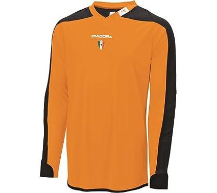 a4dc7937 Buy Diadora Enzo Goalkeeper Jersey Fluorescent Orange Small Online ...