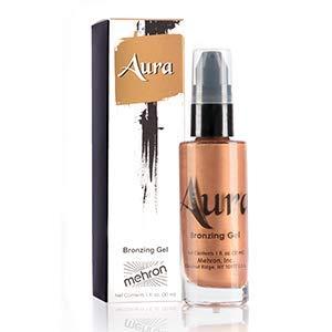 (Mehron Makeup Aura Bronzing Gel (1 oz))