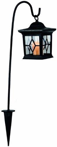 Best Season 477-20 LED-Solarlaterne, 1-teilig,ca. 58 cm x 14,5 cm, amber