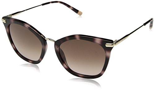 Calvin Klein Women's Ck1231s Cateye Sunglasses, Rose Havana, 54 mm by Calvin Klein