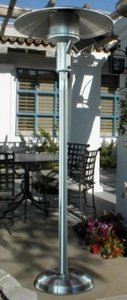 Sunglo A242SS Stainless Steel Portable Natural Gas Outdoor Patio Heater