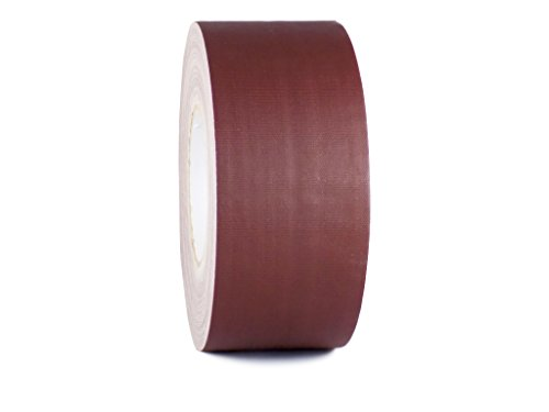 Burgundy Gaffers Tape - T.R.U. CGT-80 Burgundy Gaffers Stage Tape with Rubber Adhesive, 3 in. wide x 60 Yards length, 12MIL Thickness (Pack of 1)