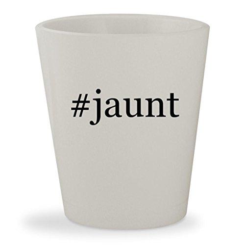 #jaunt - White Hashtag Ceramic 1.5oz Shot Glass
