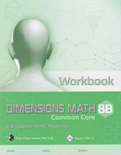 DIMENSIONS MATH 8B Workbook