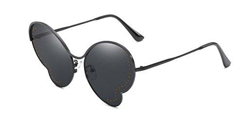 inspirées Pièce polarisées soleil Complète en lunettes A style métallique vintage Lennon du Grise retro cercle rond de wOtqqxEU