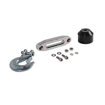 "Extreme Max 5600.3106 ATV / UTV Winch Accessory Kit with Hawse, Rubber Bumper, & 5/16"" Hook"