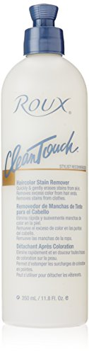 Hair Color Stain Remover (Roux Clean Touch Hair Color Stain Remover, 11.8 Ounce)