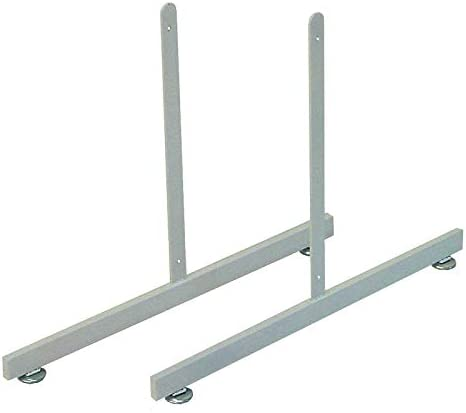 Only Hangers 1918W T-Shape Gridwall Panel Legs Display Set of 2 - White