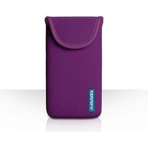 Caseflex Samsung Galaxy S7 Edge Case Purple Neoprene Pouch Cover Sales