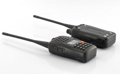 Generic Long Range Walkie Talkie Set with VOX Function (220V, 3-5 km Range, Charges Docks)