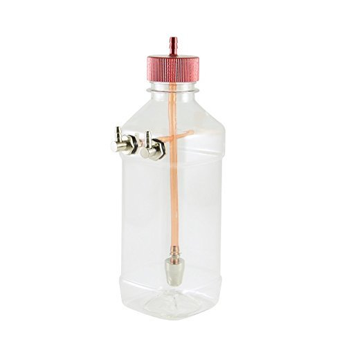 Goliton? 360ml Transparent Fuel Tank for 26-40CC Gasoline/Nitro Airplanes MOD.W25.FTX.360.XXR
