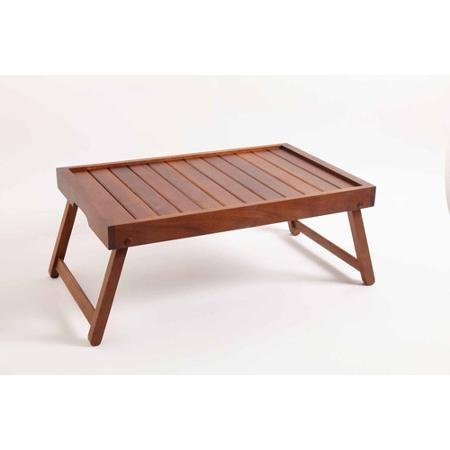 Gibson Home Brede Bed Tray, Acacia Wood By Gibson