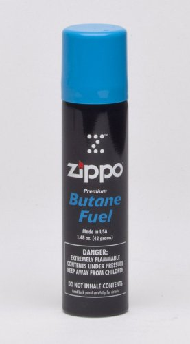 Zippo Butane Fuel, 42 gram Packaging may vary. - Line 2 Cigar Lighter