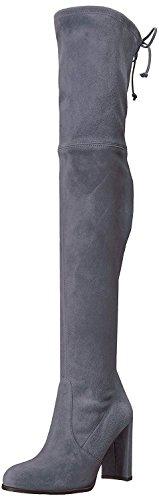 Stuart Weitzman Women's HILINE Over The Knee Boot, Denim Suede, 7 Medium US