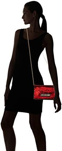 Love Moschino JC4266PP0BKM050A, Sac à l'épaule Femme, Rouge, Normale
