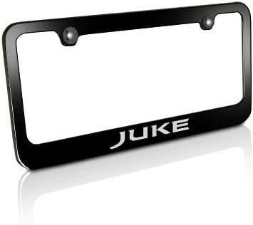 New chrome plated Nissan 350Z cast zinc license plate frame front rear