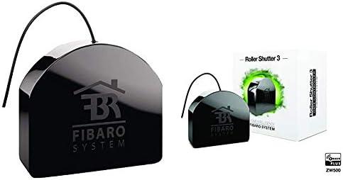 Fibaro Roller Shutter 3 - Controlador de Radio con Tecnología Z-Wave 5, Negro + Fgs-213 Negro: Amazon.es: Bricolaje y herramientas