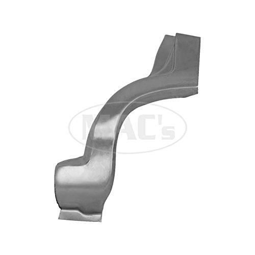 MACs Auto Parts 60-13336 Quarter Patch Panel - Dog Leg - Left - 2 & 4 Door -