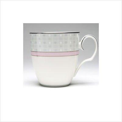 - Noritake Aria Platinum Pink Mug Cup