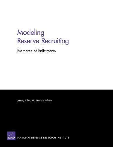 Modeling Reserve Recruiting: Estimates of Enlistments