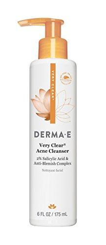 Derma-E Very Clear Cleanser 6 oz