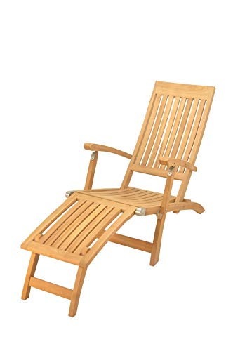Multi Position Steamer Lounger Chair (Furniture only) Made from A-Grade Teak Wood - Furniture Garden Indonesian Teak