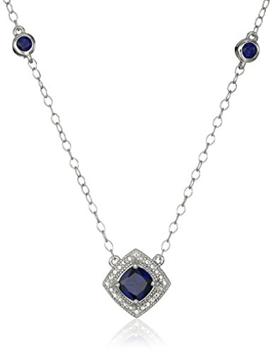 Bezel Set Created Sapphire Gemstones on  - Bezel Gemstone Shopping Results