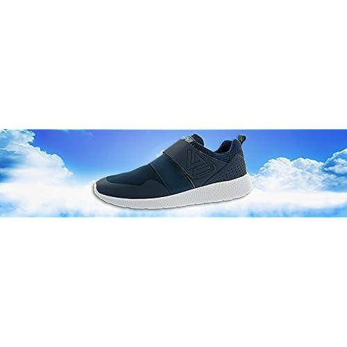 7c74693f Beppi Zapatillas de Material Sintético Para Niño Azul Azul/Blanco, Color  Azul, Talla