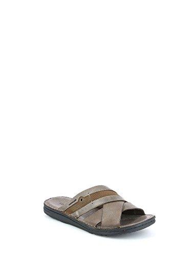 para LAPO y Zapatos Piscina GRUNLAND Playa de Hombre Ebano YIqxpd7