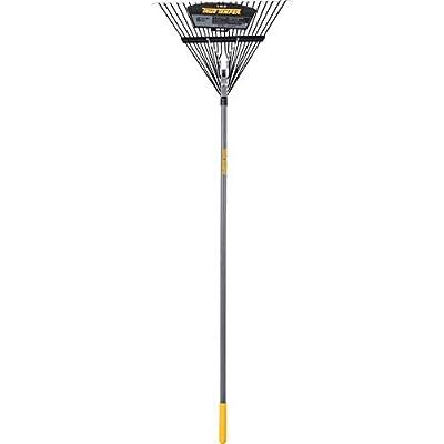 True Temper 2604512 Steel 22-Tine Leaf Rake with Hardwood Handle, 22 Inch : Garden & Outdoor