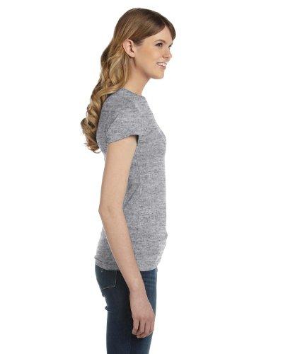 anvil- T-shirt à manches courtes pour femme L gris