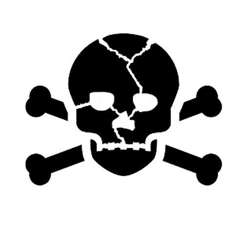 (Skull Crossbones Stencil Mylar Gothic Skeletons Skulls Stencils)