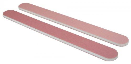 Standard Pink/Lt. Pink 280/320 Washable Nail File 50 Pack