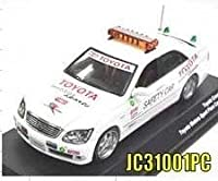 1/43 トヨタ クラウン 2006 ''TOYOTA MOTOR SPORT'' ペースカー(ホワイト) JC31001PCの商品画像