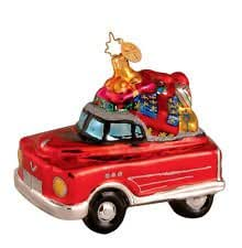 "Christopher Radko Chirstmas Ornament ""Retro Roadster"""