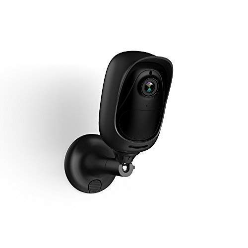 Black Silicone Skin for Reolink Argus 2/Argus Pro 100% Wire Free Outdoor Security Wireless IP Camera, Protective Case with Mount, UV and Weather Resistant (Camera NOT Included)