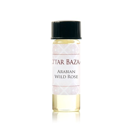 - ATTAR BAZAAR FRAGRANCES Arabian Wild Rose Perfume Oil, 0.13 Ounce