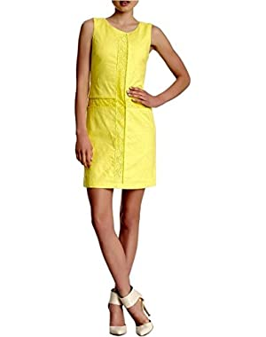 Jessica Simpson Lace Panel Dress