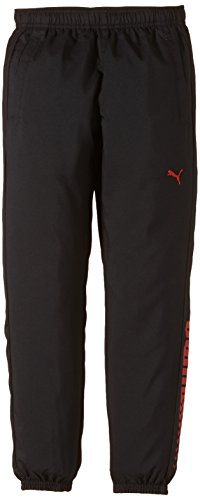 PUMA Jungen Hose Active Cell Woven Pants B, Black, 140, 832696 01