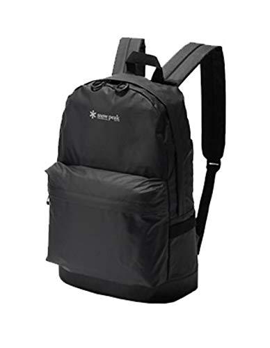 (Snow Peak Day Pack Black, One Size)