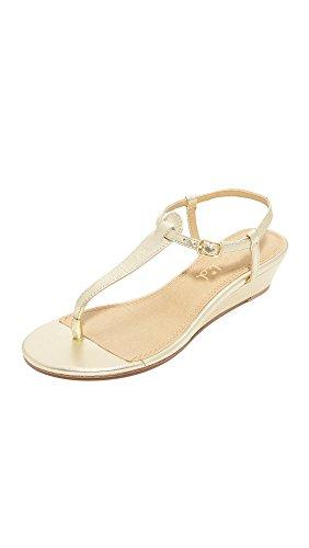 Splendid Women's Justin Wedge Sandal, Gold, 10 M US