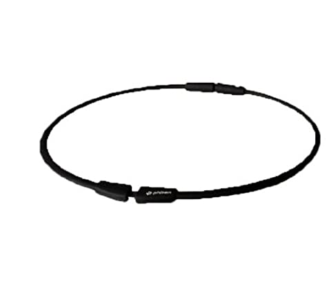 Phiten Titanium Necklace S-Pro 21 inch Black - Titanium Sport Health Necklace