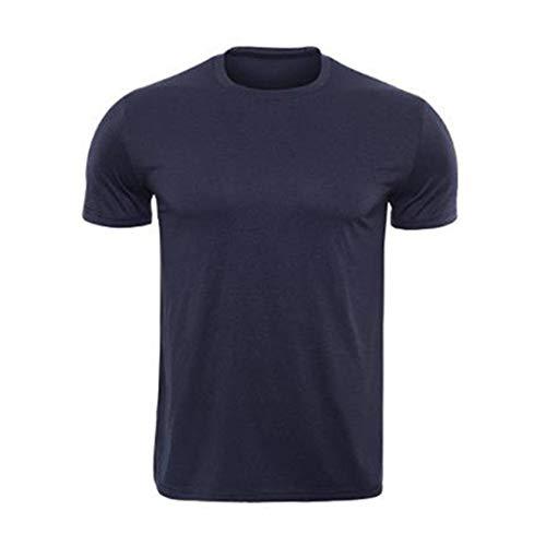 Mikey Store Mens Short Sleeves Rashguard T-Shirt Tight-Drying Tops ()